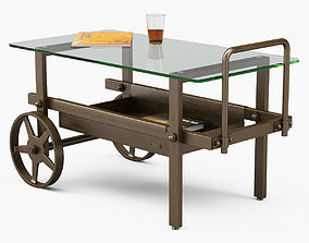 3D model Serving tables Robers Indoor