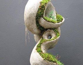 Terraform Sculpture Planter - STL for 3D printing