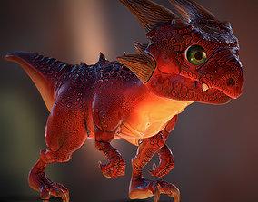 3DRT Fantasy Drake pet animated
