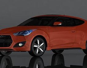 Hyundai Veloster 3D asset