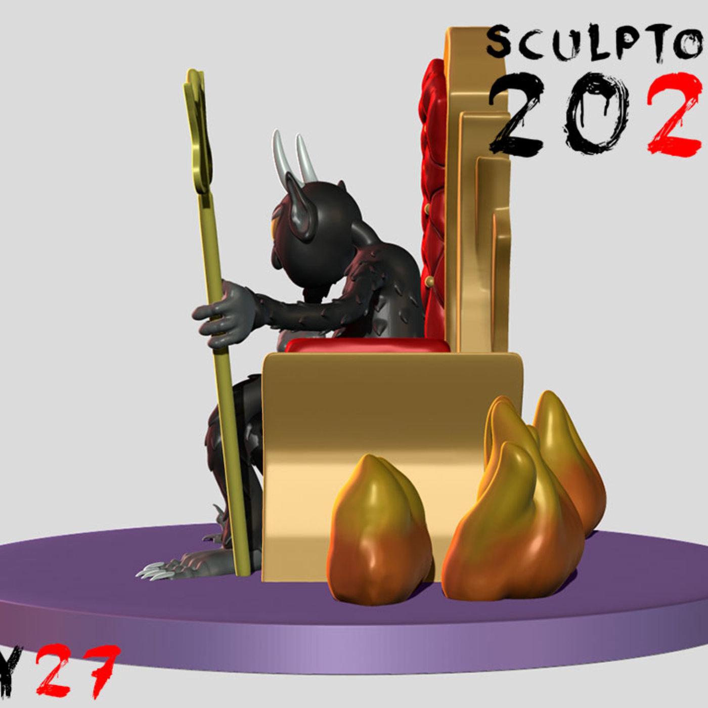 Sculptober Day 27 Mischief