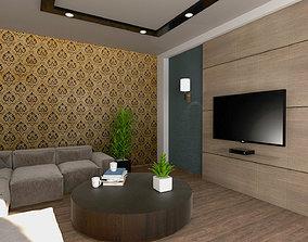 general-decor Living Room 3D