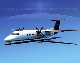 DeHavilland DHC-8-Q300 Air Charter Intl 3D