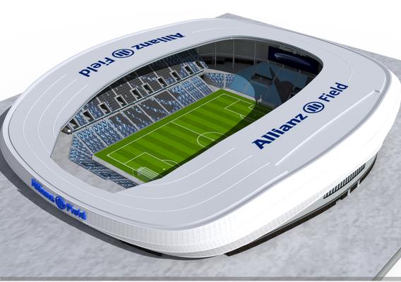 Allianz Field Stadium 3d model