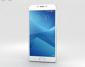Meizu M5 Note Silver 3D