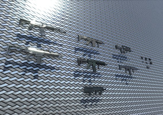 Assault Rifle collection