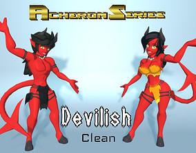 3D asset Acheron Devilish Clean