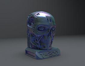 Terminator T-800 Skull Bust 3D model fi