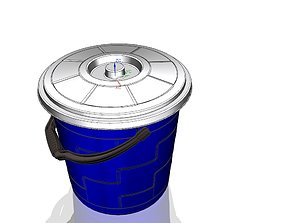 3D printable model Plastic 16lt bucket
