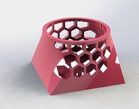 Juxtaposition Pen Holder Hive 3D print model