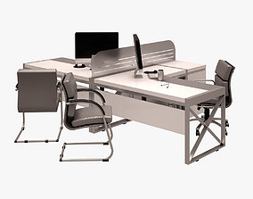 Workstation Set 001 3D
