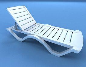 3D asset Sunbed Plastic