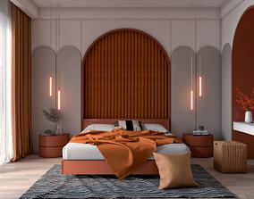 3D model animated Bedroom interior design