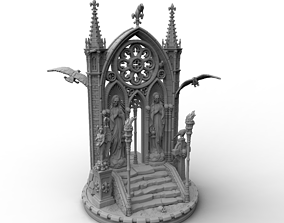 3D print model Heresylab - Lord of Deliverance Base