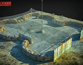 defense camp 3D model