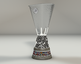 UEFA Europa League trophy 3D model