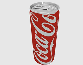 Can Coca-Cola 25cl 3D