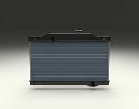 Car Radiator 3D asset