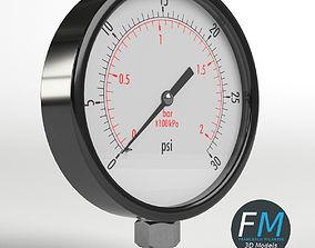 3D PBR Pressure gauge