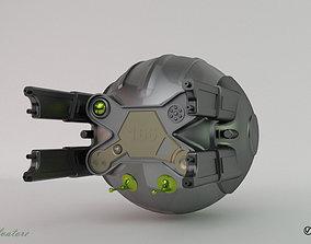 3D model Modification of the Oblivion drone 166-1