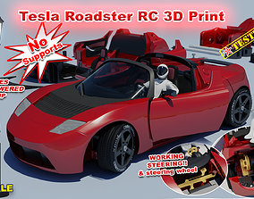 Tesla Roadster RC 3D printable model