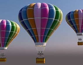 3D model festival Hot Air Balloon