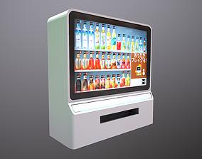 Futuristic Vending Machine 3D model