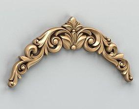 3D model Carved decor horizontal 020