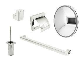 Bathroom accessories Roca by ARTrzcinski 3D model