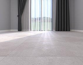 3D model Floor Hyper White 60x60