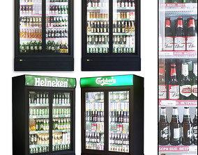 Showcase 003 Refrigerator 3D model