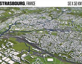 3D model Strasbourg France