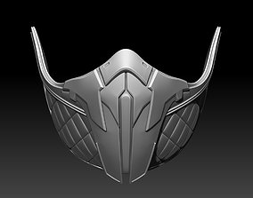 Frost mask for cosplay 2 in 1 3D print model 3