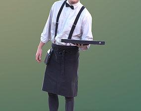 Dan 10487 - Working Waiter 3D model