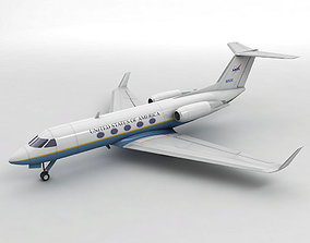 3D model Gulfstream III Aircraft - Air Force One