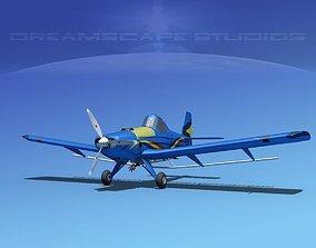 3D model EMB-202A Ipanema V02
