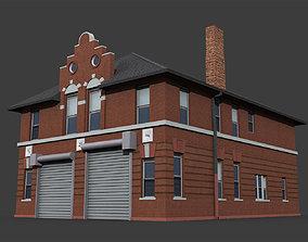 Fire Department Building 3D model