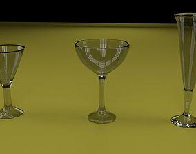 3D model Glasses 1