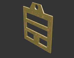 rgd xun trigram pendant mk3 3D print model