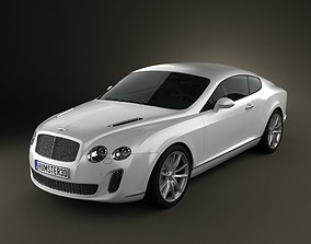 3D Bentley Continental Supersport coupe