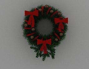 various 3D Christmas Wreath