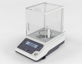 3D model Analytical balance BSM- 220-4