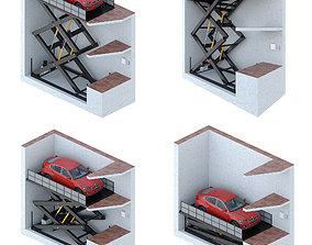 3D model Car lift 1