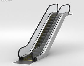 Escalator 3D office