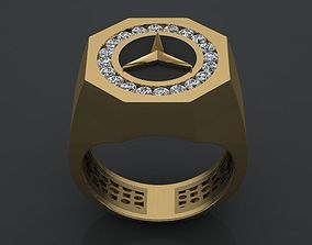 Benz ring 3D printable model