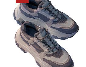 Women sneakers 177 3D model
