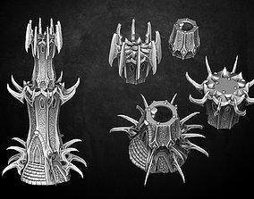 Heresylab - Dark Elven Tower 3D printable model