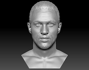 Tom Hardy bust 3D printing ready stl obj formats