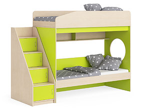 3D Legenda K10 with LY10 childrens modular bed
