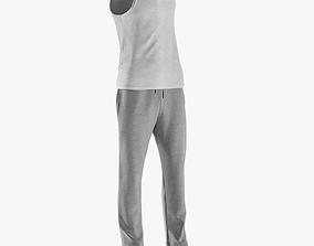 Mens Sport Clothing 5 3D model